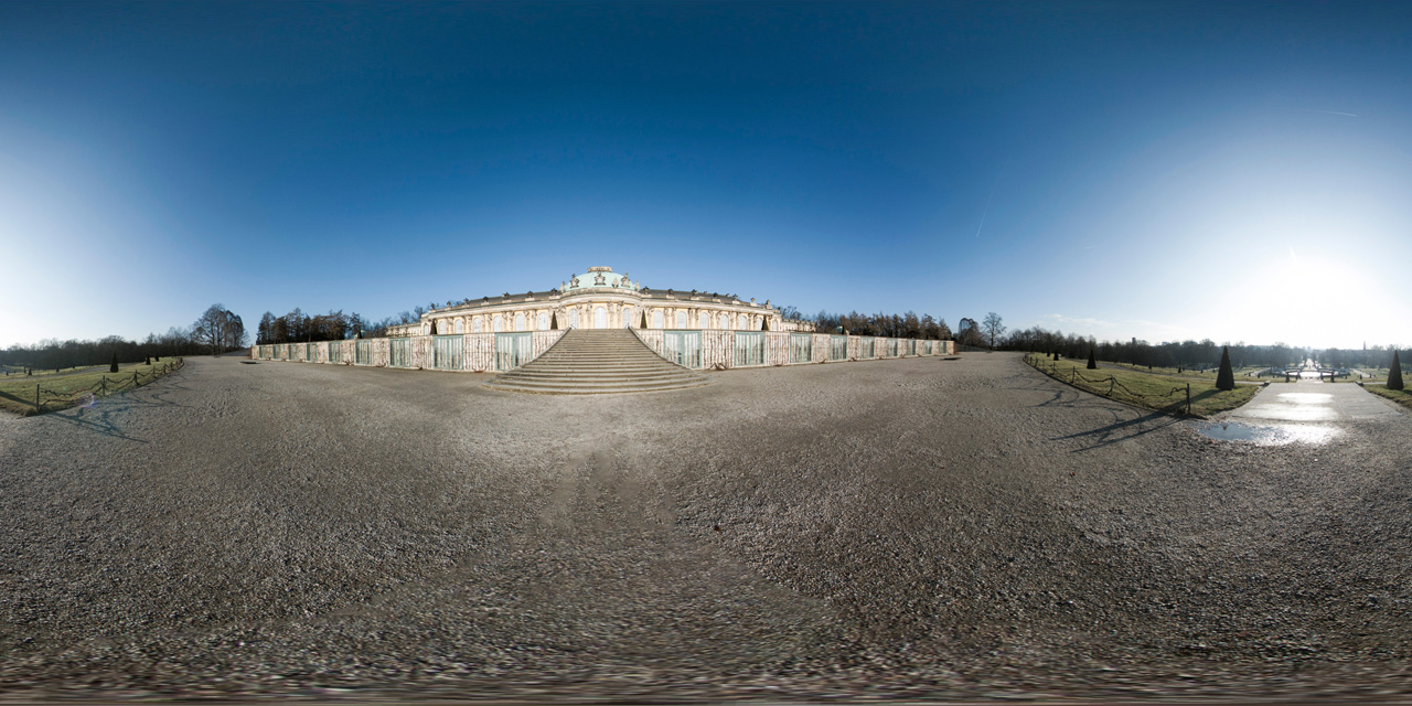 daily360° | Potsdam – Sanssouci Palace